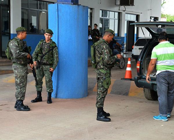 Receita Federal de Corumbá pegou de surpresa a população. - Crédito: Foto: Anderson Gallo/Diario Corumbaense