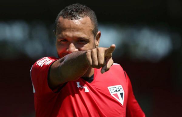 Luis Fabiano abriu o placar, mas o Cruzeiro virou. - Crédito: Foto: Divulgação