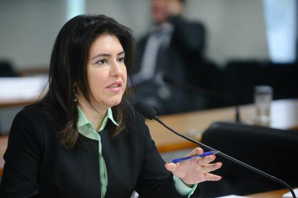 Simone Tebet destaca a importância da reunião dos governadores. - Crédito: Foto: Marcos Oliveira/Agência Senado