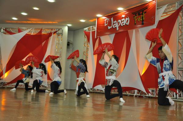 Apresentações artísticas vão marcar as três noites da 14ª edição do Japão Fest. - Crédito: Foto: Hedio Fazan/Arquivo