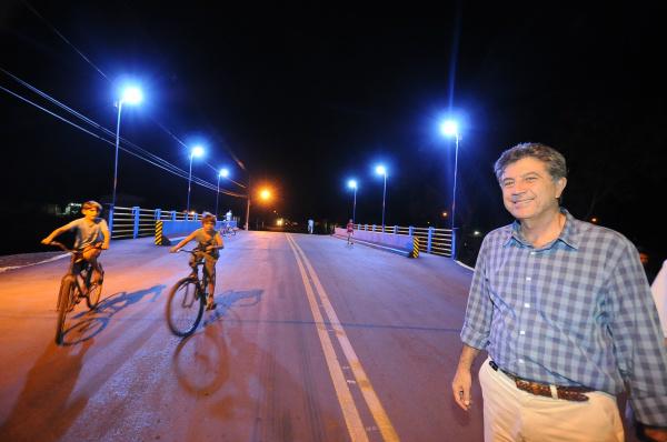Pontes planejadas por Murilo  facilitam a mobilidade urbana e o desenvolvimento de Dourados. - Crédito: Foto: Chico Leite