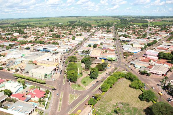 Município de Ivinhema tem hoje mais de 30 mil habitantes e comemora 52 anos de emancipação política. - Crédito: Foto: Arquivo