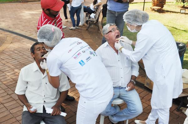 Campanha de prevenção foi realizada em Campo Grande em 2014 e reuniu muitas pessoas. - Crédito: Foto: Divulgação