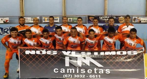 Equipe do Latinos representa Dourados na decisão da competição; o adversário é a equipe de Angélica. - Crédito: Foto: Cleber Soares