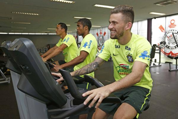 Lucas Lima diz que ausência de Messi não enfraquece Argentina. - Crédito: Foto: Rafael Ribeiro/CBF