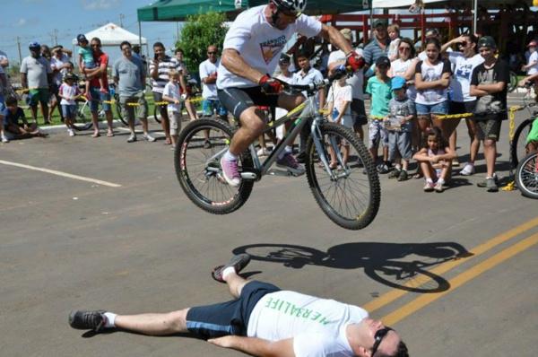 Manobras de Abilio devem abrilhantar o evento de bikes que reúne ciclistas de todo o Brasil. - Crédito: Foto: Divulgação