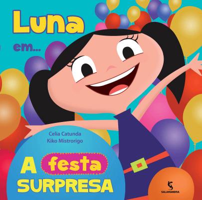 """No livro """"Luna em... A Festa Surpresa"""", a garotinha espera ansiosamente por uma encomenda. - Crédito: Foto: Divulgação"""