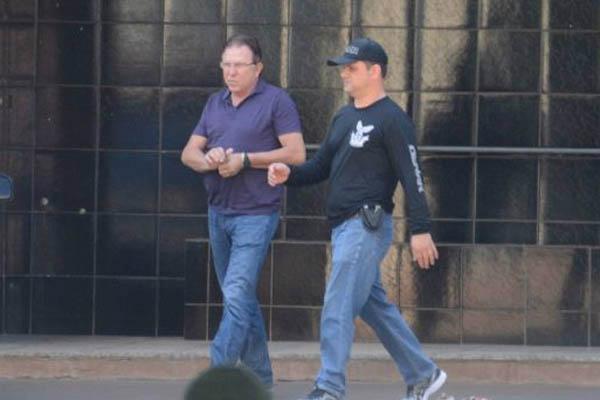 Todos os dez investigados foram presos por conta de uma decisão do juiz Carlos Alberto Garcete. - Crédito: Foto: Divulgação