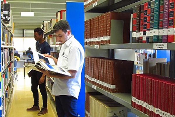 Na Biblioteca Pública Estadual Dr. Isaías Paim acontece a exposição de obras bibliográficas sobre grandes figuras da cultura afro-descendente. - Crédito: Foto: Edemir Rodrigues