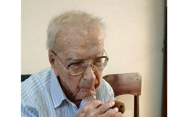 Frei Mateus Rothmann, nasceu na Alemanha, região de Frankfurt, no dia 13 de novembro de 1915. - Crédito: Foto: Divulgação