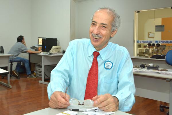 Conselheiro da OAB Afeife Hajj. - Crédito: Foto: Marcos Ribeiro