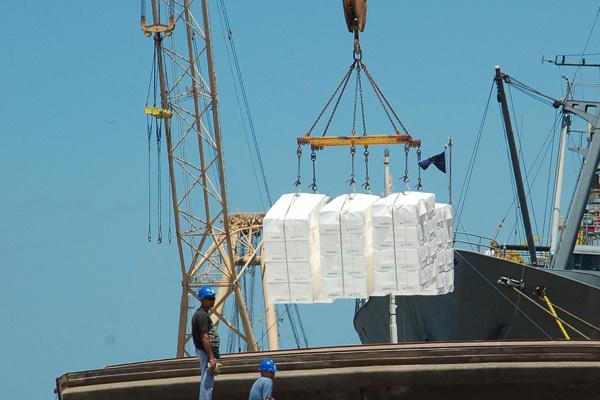 Exportação do agronegócio tem sido o principal sustento da balança comercial brasileira em 2015. - Crédito: Foto: Divulgação