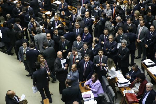 Congresso Nacional manteve o veto presidencial a projeto de lei que concedia reajuste de 78% aos servidores do Judiciário. - Crédito: Foto: Ananda Borges/Câmara dos Deputados