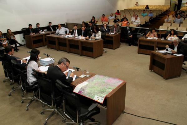 Produtor Raul das Neves durante depoimento à CPI do Cimi na última terça-feira. - Crédito: Foto: Wagner Guimarães/ALMS