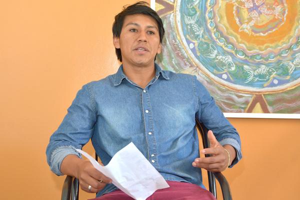 Kenedy vai denunciar situação dos indígenas de MS no Peru. - Crédito: Foto: Marcos Ribeiro