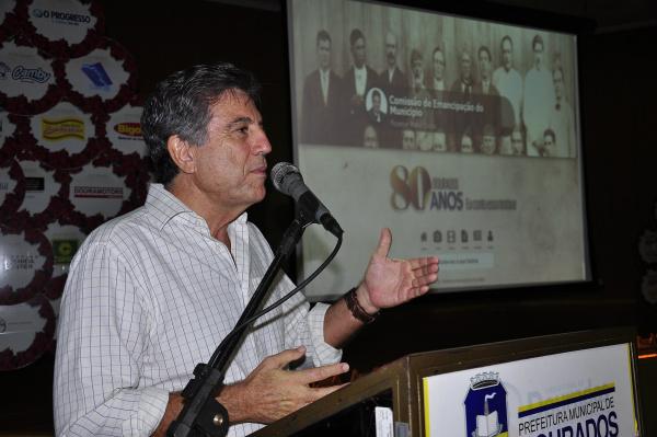 Prefeito Murilo Zauith lançou programação de fim de ano que tem apoio do empresariado local. - Crédito: Fotos: Hedio Fazan