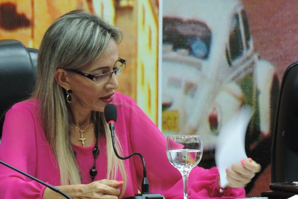 Vereadora Virgínia Magrini reafirma que o Partido Progressista terá candidatura própria à Prefeitura de Dourados em 2016 e já começa a ouvir líderes de outras legendas. - Crédito: Fotos: Marcos Santos