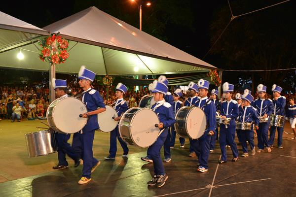 No ano passado, Festival teve participação de oito fanfarras e bandas em Dourados. - Crédito: Foto: Divulgação