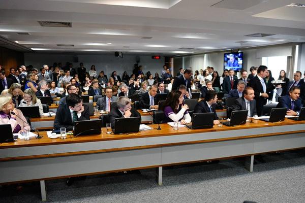 Comissão de Constituição, Justiça e Cidadania - Crédito: Foto: Marcos Oliveira/Agência Senado