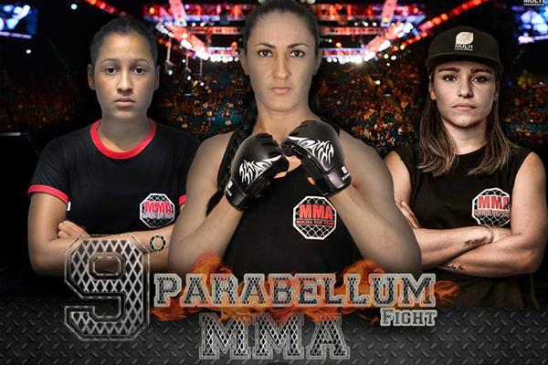 Lutas femininas darão toque mais interessante ainda ao evento; na foto, lutadoras da Team Rocha. - Crédito: Foto: Divulgação