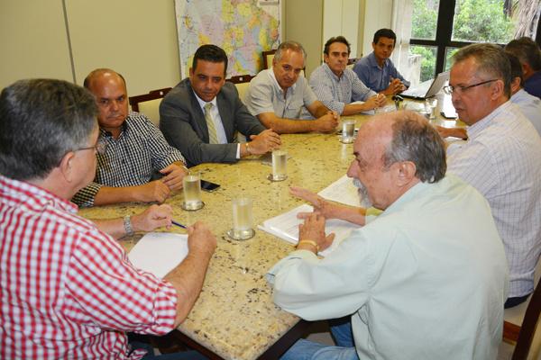 Sinpetro, Sefaz e revendedores. - Crédito: Foto: Divulgação