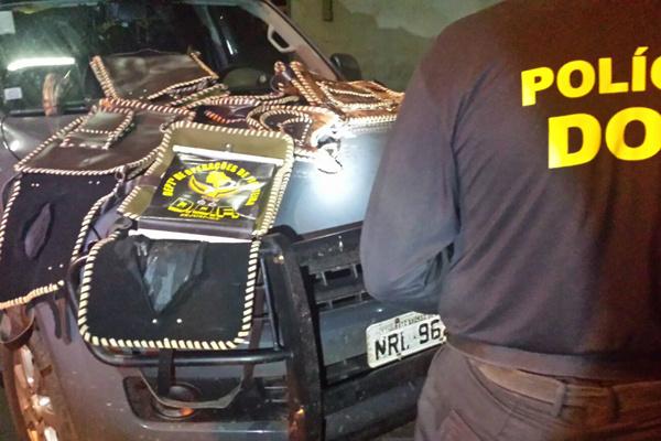 Policiais desconfiaram de atitude 'nervosa' de passageira. - Crédito: Foto: Divulgação/DOF