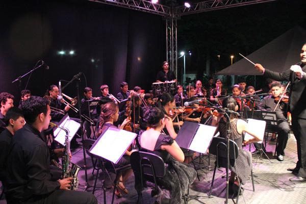 Orquestra Sinfônica de Rio Brilhante é uma referência no Estado de Mato Grosso do Sul. - Crédito: Foto: Assessoria