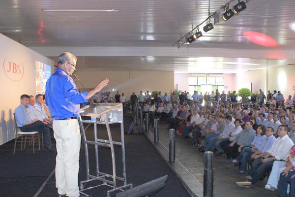 Deputado Geraldo Resende acompanha governador Reinaldo. - Crédito: Foto: Divulgação