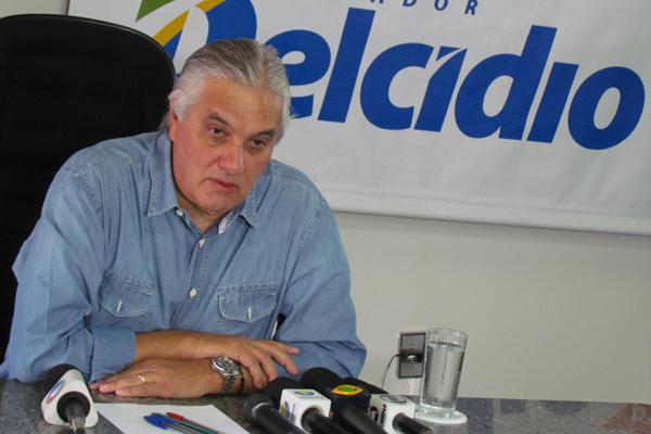 Senador Delcídio foi preso semana passada numa das fases da Operação Lava Jato. - Crédito: Foto: Reprodução