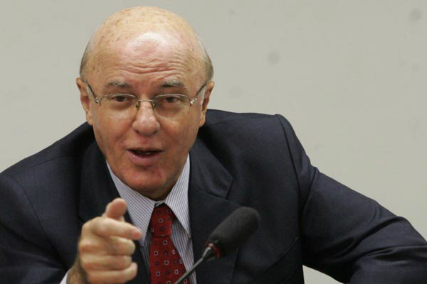 Ex-presidente da Eletronuclear, almirante Othon Luiz Pinheiro da Silva. - Crédito: Foto: Reprodução