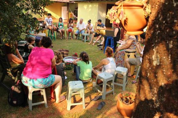 """""""Música Indígena no Palco"""", traz repertório  formado por músicas aprendidas com os Guarani e Kaiowa. - Crédito: Foto: Divulgação"""