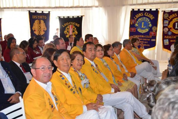 Lions Clube de Dourados participou de evento em Ponta Porã. - Crédito: Foto: Divulgação