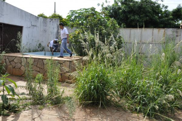 Saúde realiza mutirões em Dourados para eliminar o mosquito. - Crédito: Foto: Hedio Fazan