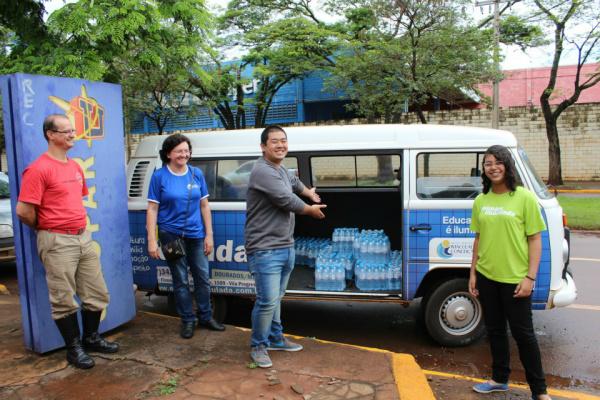 Doação foi entregue à Defesa Civil de Dourados. - Crédito: Foto: Divulgação