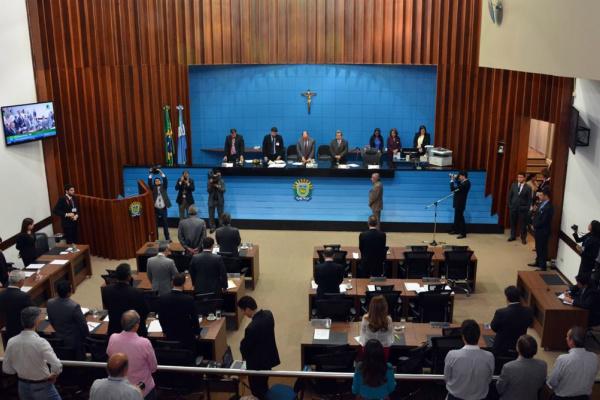 O projeto de Lei Orçamentári para 2016 tem que ser votado pela Assembleia antes do período de recesso. - Crédito: Foto: Robero Higa/ALMS