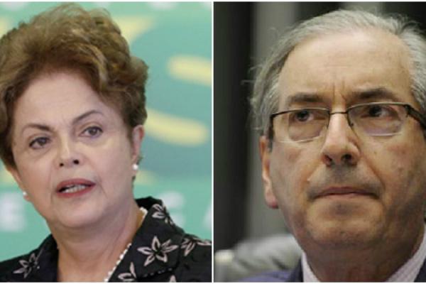 Futuro da presidente Dilma Rouseff estaria atrelado ao do presidente da Câmara dos Deputados, Eduardo Cunha - Crédito: PMDB-RJ