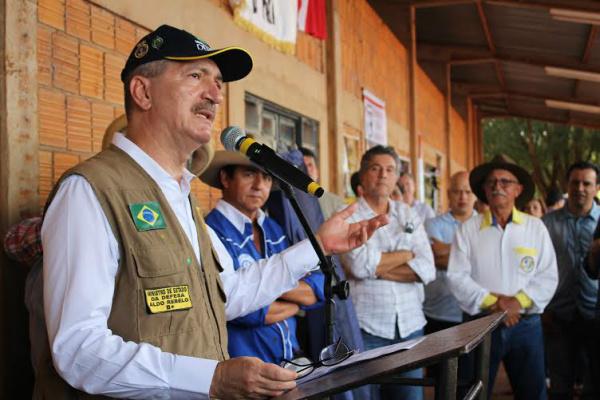 Ministro Aldo Rebelo diz que irá apoiar as agendas estratégicas de  defesa nacional do país. - Crédito: Foto: Divulgação