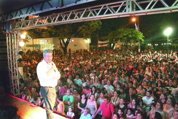 Evento terá como ponto principal Praça Geraldo Mattos Lima. - Crédito: Foto: Cogecom