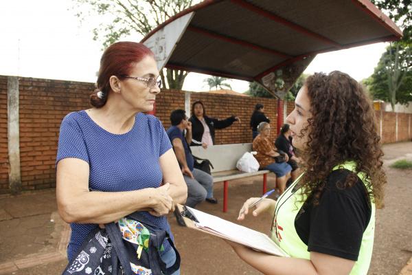 Quem não respondeu ao questionário das ruas pode ir ao site. - Crédito: Foto: Chico Leite
