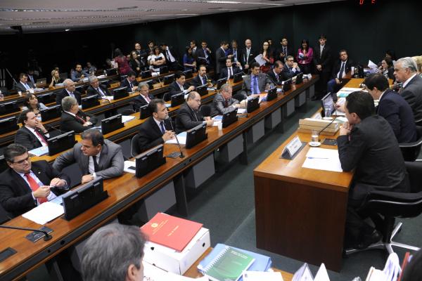 Sessão do Conselho de Ética foi suspensa ontem após decisão que afastou deputado; os trabalhos serão retomados hoje pela manhã. - Crédito: Foto: Lucio Bernardo Jr/Câmara dos Deputados