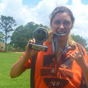 Priscila Bianchi conquistou o primeiro lugar na categoria Elite. - Crédito: Foto: Divulgação