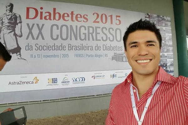 Médico Antônio Hattori participou recentemente de congresso nacional de diabetes. - Crédito: Foto: Divulgação