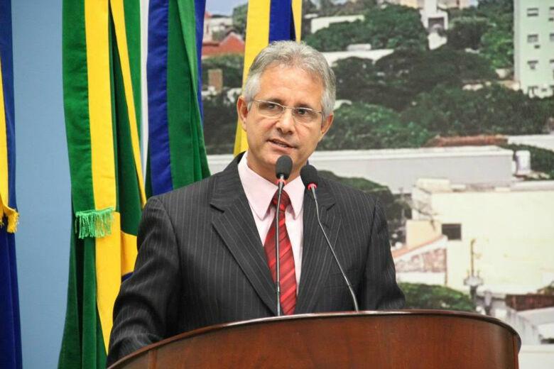 Vereador Sergio Nogueira. - Crédito: Foto: Thiago Morais