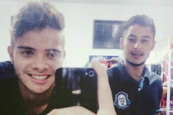 Marcelo e Walter desapareceram no final da tarde de domingo. - Crédito: Foto: Divulgação
