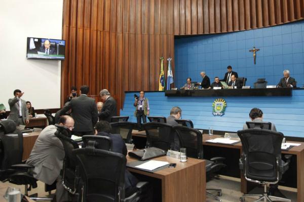 Deputados aprovaram ontem vários projetos, entre os quais o orçamento do Estado para 2016. - Crédito: Foto:  Wagner Guimarães/ALMS