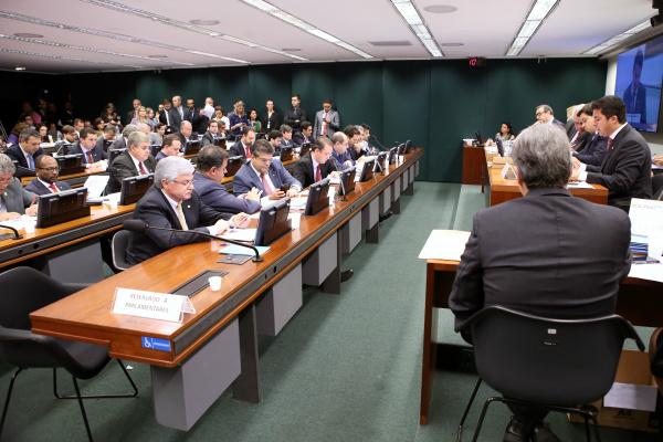 Reunião para apreciação do parecer preliminar do novo relator do processo contra Cunha. - Crédito: Foto: Antônio Augusto/Câmara dos deputados