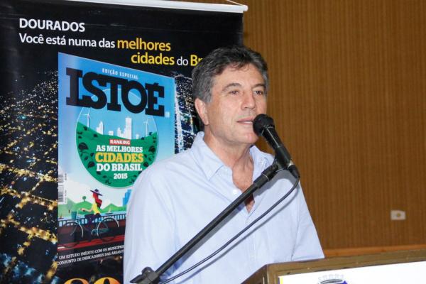 Prefeito Murilo destaca a melhoria da qualidade de vida em Dourados. - Crédito: Foto: Chico Leite