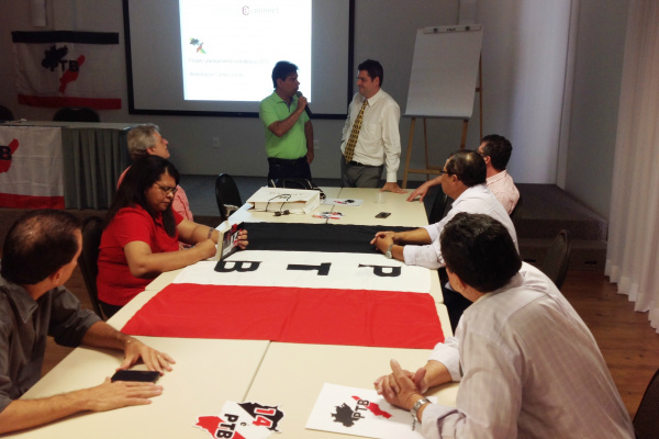 Líderes estaduais do PTB participaram de curso, nesta semana, em Campo Grande. - Crédito: Foto: Divulgação