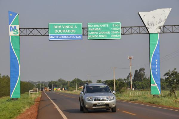 Como importante polo regional, de serviços, Dourados é o 137º maior município brasileiro e o 9º maior município do Centro-Oeste. - Crédito: Foto: Marcos Ribeiro