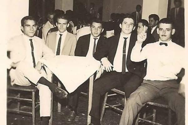 Fotos históricas de profissionais que trabalharam na Rádio Clube de Dourados nos anos dourados. -